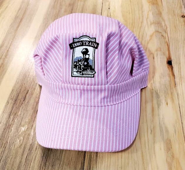794be34594c797 1880 Train Youth Pink Engineer Hat Adjustable Velcro closure