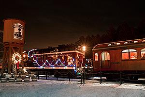 Christmas Train Lights