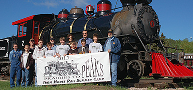 Prairies to Peaks Iron Horse Rail Summer Camp